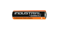 BATTERIA ALC. LR03 DURACELL IND. 1,5 V. MINISTILO AAA 100 PEZZI